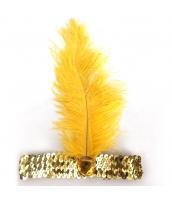 インディアン帽子 コスプレ小道具 帽子 イエロー qx10030-10