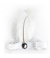 インディアン帽子 コスプレ小道具 帽子 白 qx10030-4
