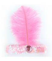 インディアン帽子 コスプレ小道具 帽子 ピンク qx10030-5