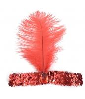 インディアン帽子 コスプレ小道具 帽子 オレンジ qx10030-6