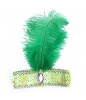 インディアン帽子 コスプレ小道具 帽子 グリーン qx10030-7
