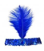 インディアン帽子 コスプレ小道具 帽子 ブルー qx10030-8