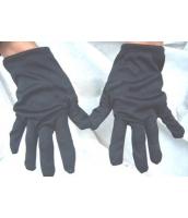 コスプレ小道具 ジャズバンド・紳士服小物 グローブ・手袋 黒 qx10033-4