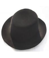コスプレ小道具 ジャズバンド・紳士服小物 帽子・ハット ベルベット qx10033-6