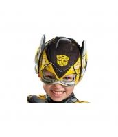 バンブルビー トランスフォーマー フードマスク 布製 子供用 qx10036-1