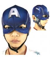 キャプテン・アメリカ/スティーブ・ロジャース アベンジャーズ フードマスク 布製 子供用 qx10036-6