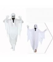 コスチューム 白幽霊 ローブ+フードマスク 2点セット qx10037-13
