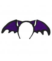 コスプレ小道具 ハロウィン用品 蝙蝠 カチューシャ qx10038-16