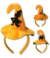 コスプレ小道具 ハロウィン用品 魔女 ウィッチ 帽子 1つ ランダム発送 qx10038-19
