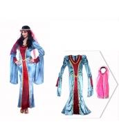古代ローマ コスチューム 貴族衣装 ドレス+ヘッドピース 2点セット qx10074-4