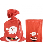 クリスマス コスプレ小道具 サンタクロース プレゼント袋 qx10040-10