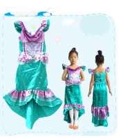 コスチューム マーメイド ドレス 3-4歳児 qx10054-1