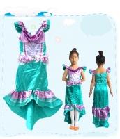 コスチューム マーメイド ドレス 4-6歳児 qx10054-2