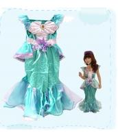 コスチューム マーメイド ドレス 4-6歳児 qx10054-4