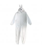コスチューム 着ぐるみ うさぎ 白 qx10058-10