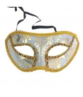 コスプレ小道具 アイマスク ホワイト qx10061-12