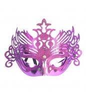 コスプレ小道具 アイマスク 紫 qx10061-17