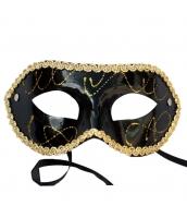 コスプレ小道具 アイマスク ブラック qx10061-4