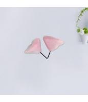 コスプレ小道具 ヘアクリップ 猫耳 ピンク qx10062-6