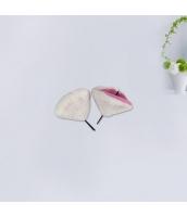 コスプレ小道具 ヘアクリップ 猫耳 ホワイト qx10062-7