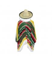 メキシコ コスチューム 衣装 グリーン 子供用 qx10063-13