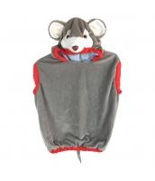 コスチューム ネズミ 半身着ぐるみ 子供用 qx10065-11