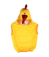 コスチューム 鶏 半身着ぐるみ 子供用 qx10065-5