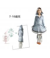 コスチューム 北極プリンセス 7-10歳児 qx10070-7