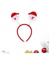 コスプレ小道具 カチューシャ サンタクロース クリスマス 大人/子供共通 qx10072-1