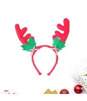 コスプレ小道具 カチューシャ 鹿角 緑葉 クリスマス 大人/子供共通 qx10072-12