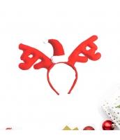 コスプレ小道具 カチューシャ サンタ帽子 レッド クリスマス 大人/子供共通 qx10072-16