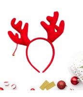 コスプレ小道具 カチューシャ ジングルベル鹿角 クリスマス 大人/子供共通 qx10072-5
