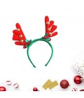 コスプレ小道具 カチューシャ 鹿角 レッド クリスマス 大人/子供共通 qx10072-6