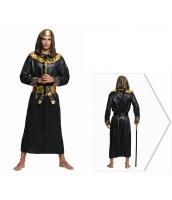 古代エジプト コスチューム 戦士 ローブ+帽子+ウエストバンド 3点セット qx10074-15