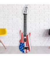 コスプレ小道具 変形風船 国旗のギターバルーン 楽器おもちゃ qx10078-1