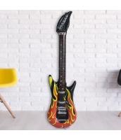 コスプレ小道具 変形風船 炎のギターバルーン 楽器おもちゃ qx10078-2