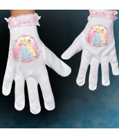 グローブ 白 アナと雪の女王 グローブ・手袋 子供用 qx10083-2