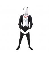 コスチューム フードマスク付きジャンプスーツ ベスト姿 160-168cm ジャンプスーツ+グローブx2 3点セット qx10137-24