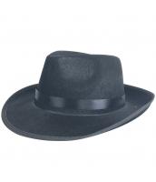 盗賊・山賊 コスプレ小道具 黒帽子 qx10093-2