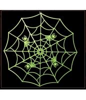 コスプレ小道具 クモの網 蛍光・夜光性 62cm qx10135-5