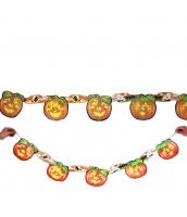 ハロウィン用品 小道具 飾り紙 ペーパーオーナメント パンプキン qx10102-9