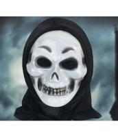 フードマスク ゾンビ 笑顔髑髏 qx10106-4