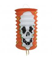 ハロウィン用品 小道具 提灯 ロング髑髏 qx10119-1