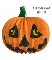 ハロウィン用品 小道具 提灯 パンプキン 25cm qx10119-4