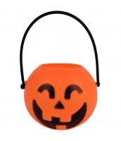 ハロウィン用品 小道具 提灯 桶パンプキン qx10119-8