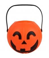 ハロウィン用品 小道具 提灯 桶パンプキン qx10119-9