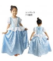 シンデレラ コスチューム ドレス 7-9歳児 qx10123-12