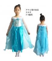 エルサ アナと雪の女王 コスチューム ドレス 3-4歳児 qx10123-14