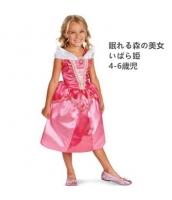 いばら姫 眠れる森の美女 コスチューム ドレス 4-6歳児 qx10123-24