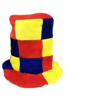 ピエロ 帽子 格子 qx10127-12